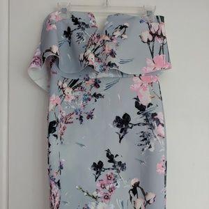 Evita UK midi dress from Nasty Gal